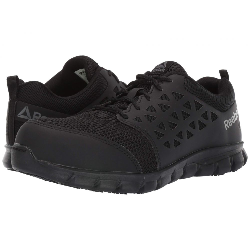 リーボック Reebok Work メンズ スニーカー シューズ・靴【sublite cushion work comp toe eh】Black