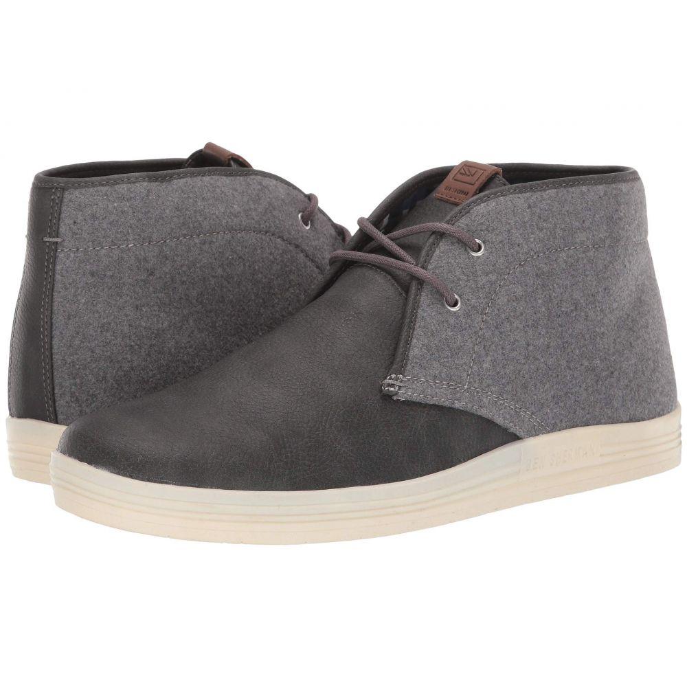 ベンシャーマン Ben Sherman メンズ スニーカー チャッカブーツ シューズ・靴【payton chukka】Dark Grey Wool/PU