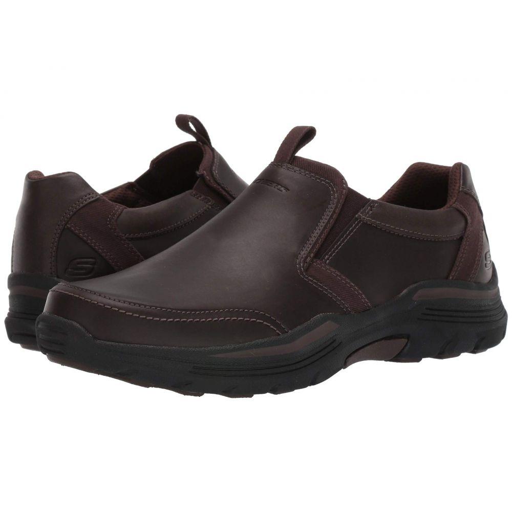スケッチャーズ SKECHERS メンズ スニーカー シューズ・靴【relaxed fit expended - morgo】Chocolate