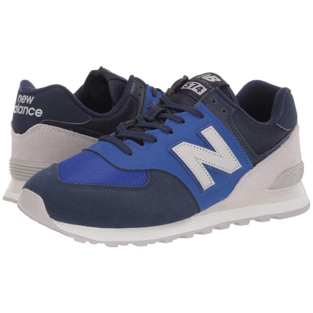 ニューバランス New Balance Classics メンズ スニーカー シューズ・靴【574v2-usa】Lapis Blue/Sea Salt Suede/Mesh