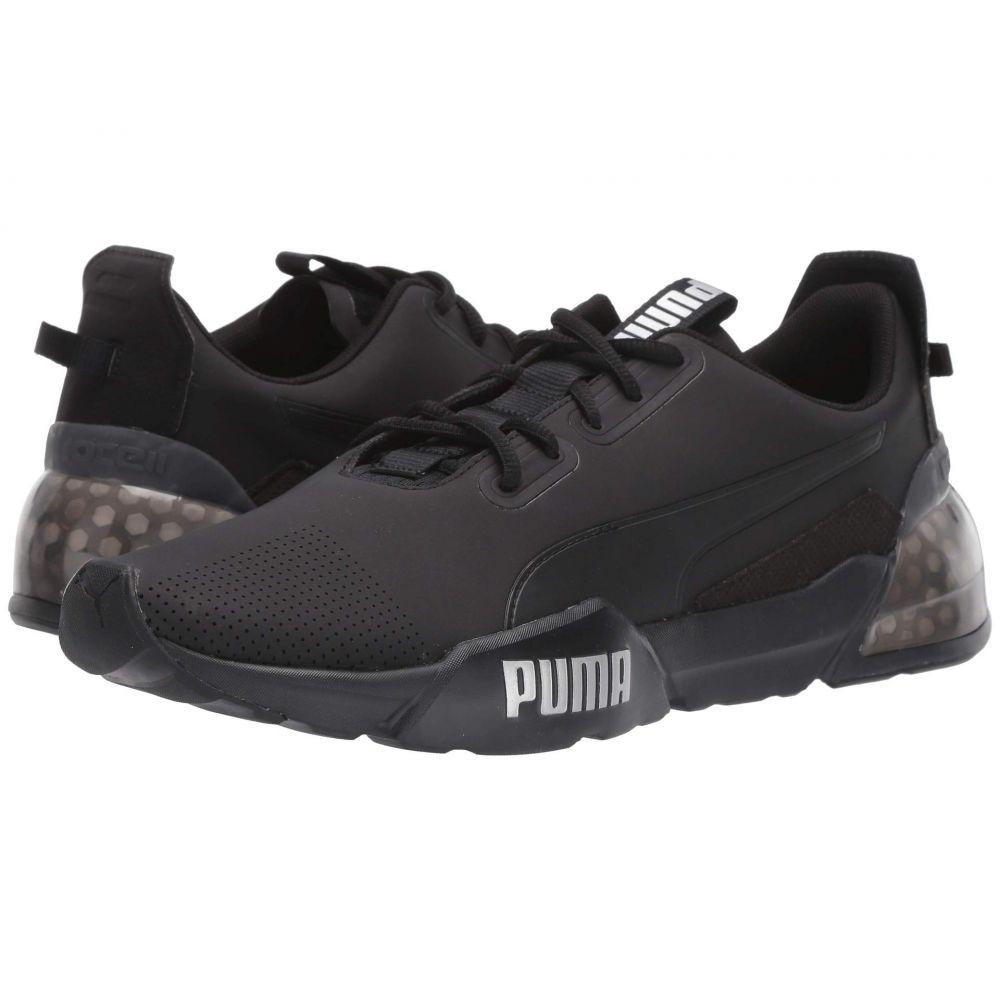 プーマ PUMA メンズ スニーカー シューズ・靴【cell phase sl】Puma Black/Castlerock