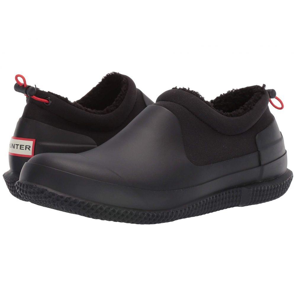 ハンター Hunter メンズ スニーカー シューズ・靴【original sherpa shoe】Black