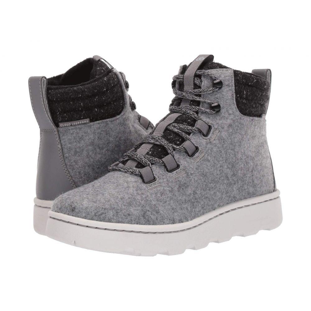 クラークス Clarks レディース ブーツ シューズ・靴【step explore hi】Grey Felt