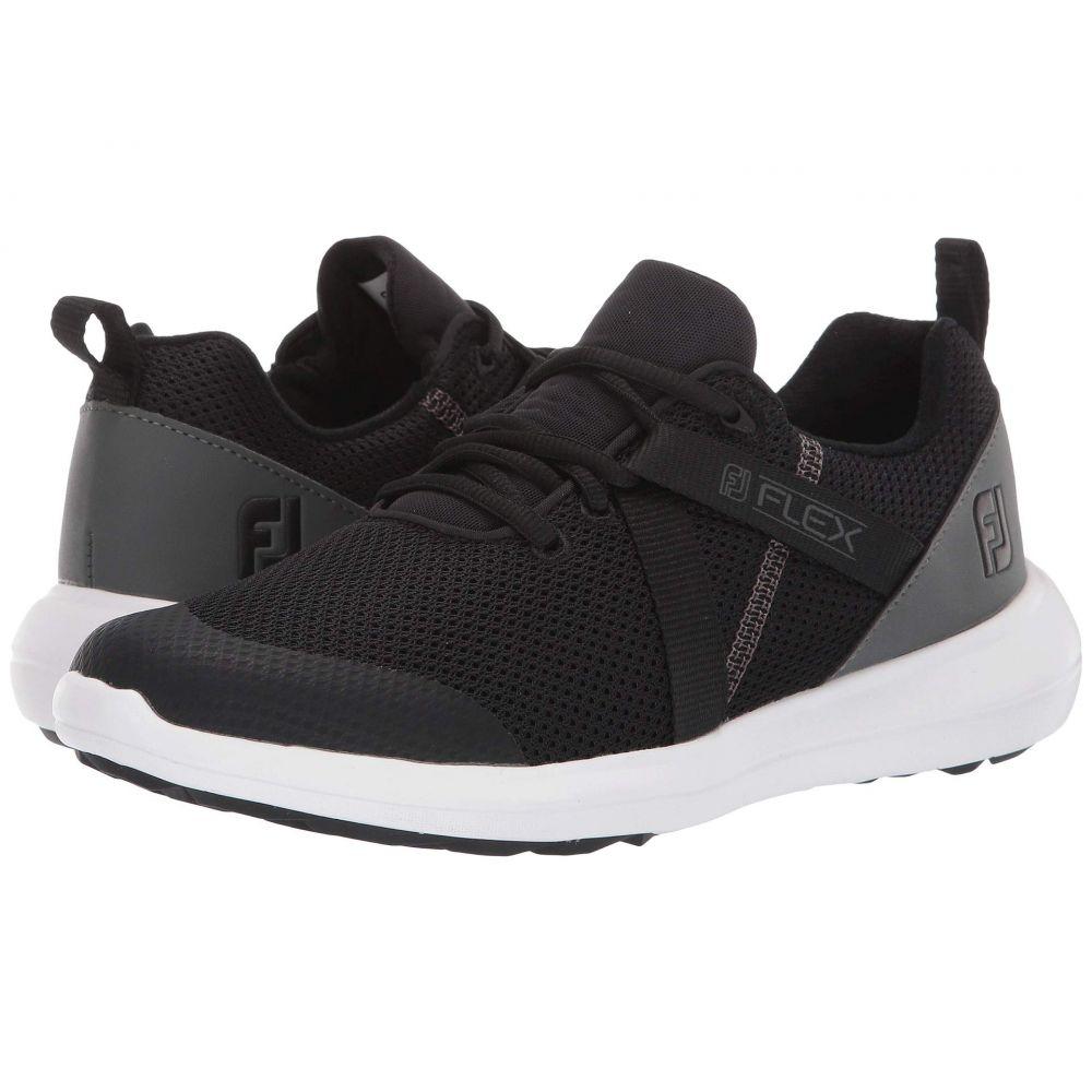 フットジョイ FootJoy レディース ゴルフ シューズ・靴【fj flex】Black/Charcoal