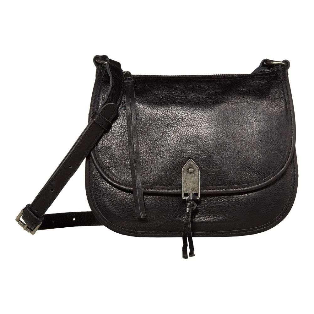 ザ サク The Sak レディース ショルダーバッグ バッグ【playa leather saddle bag】Black