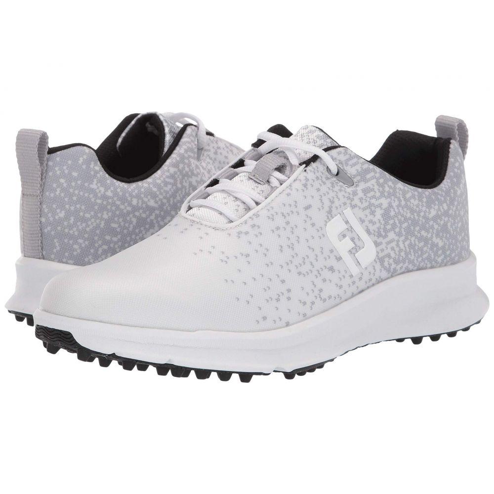 フットジョイ FootJoy レディース スニーカー シューズ・靴【fj leisure】Silver/White