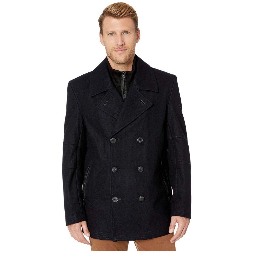 マークニューヨーク Marc New York by Andrew Marc メンズ ダウン・中綿ジャケット アウター【barton coat with removable inset】Black