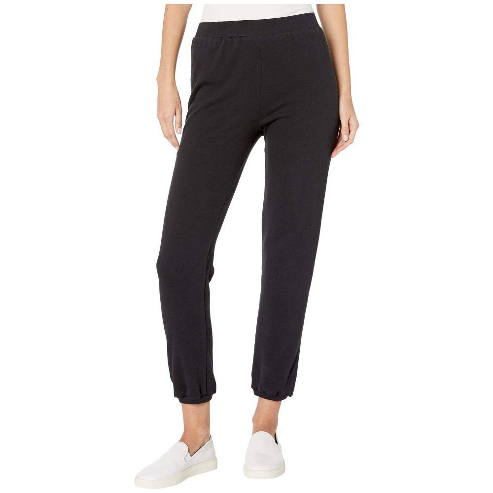 メゾン ド ソワール Maison Du Soir レディース スウェット・ジャージ ボトムス・パンツ【tailored sweatpants】Black
