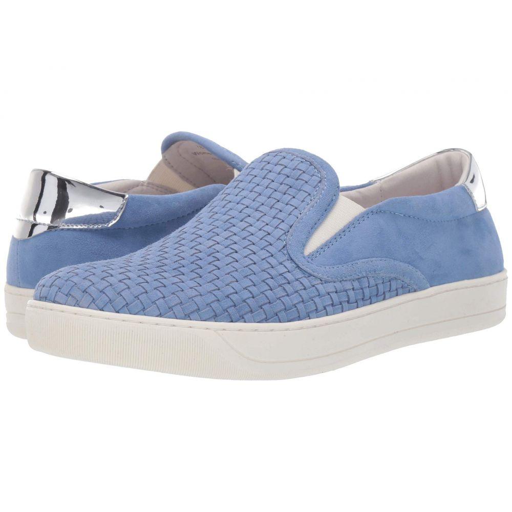 ジョンストン&マーフィー Johnston & Murphy レディース スニーカー シューズ・靴【elaina】Blue Italian Suede