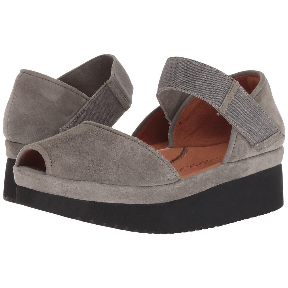 ラモールドピード L'Amour Des Pieds レディース サンダル・ミュール シューズ・靴【amadour】Gray/Black Suede