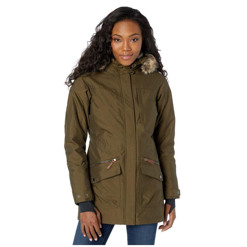 コロンビア Columbia レディース ダウン・中綿ジャケット アウター【carson pass ic jacket】Olive/Chalk Sherpa/Black
