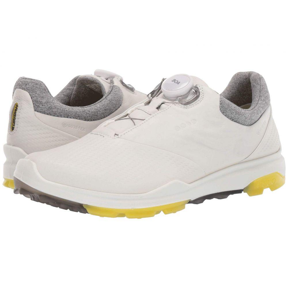 エコー ECCO Golf レディース ゴルフ シューズ・靴【biom hybrid 3 boa】White/Canary