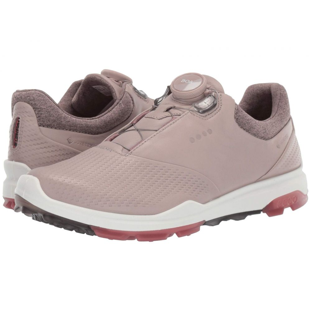 エコー レディース ゴルフ シューズ 靴 Grey Rose Petal hybrid Golf 3 サイズ交換無料 新作からSALEアイテム等お得な商品 高価値 満載 boa ECCO biom