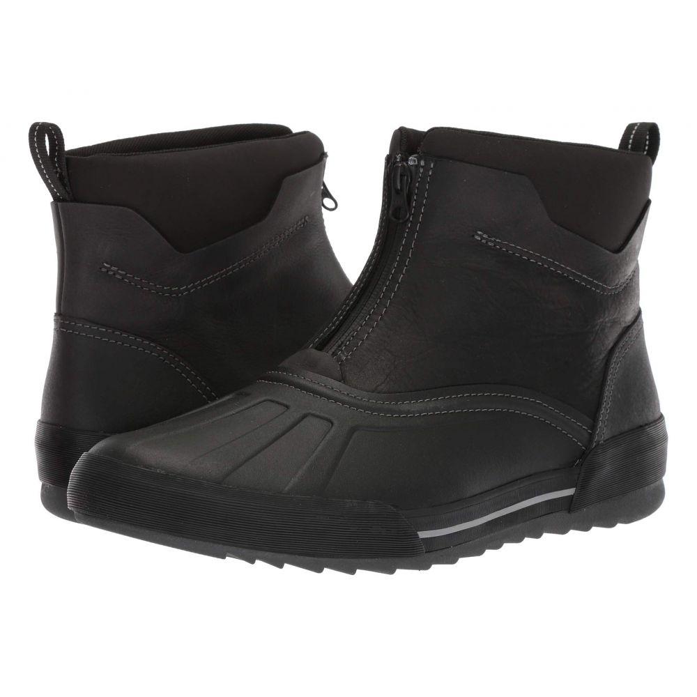 クラークス Clarks メンズ ブーツ シューズ・靴【bowman top】Black Waterproof Leather