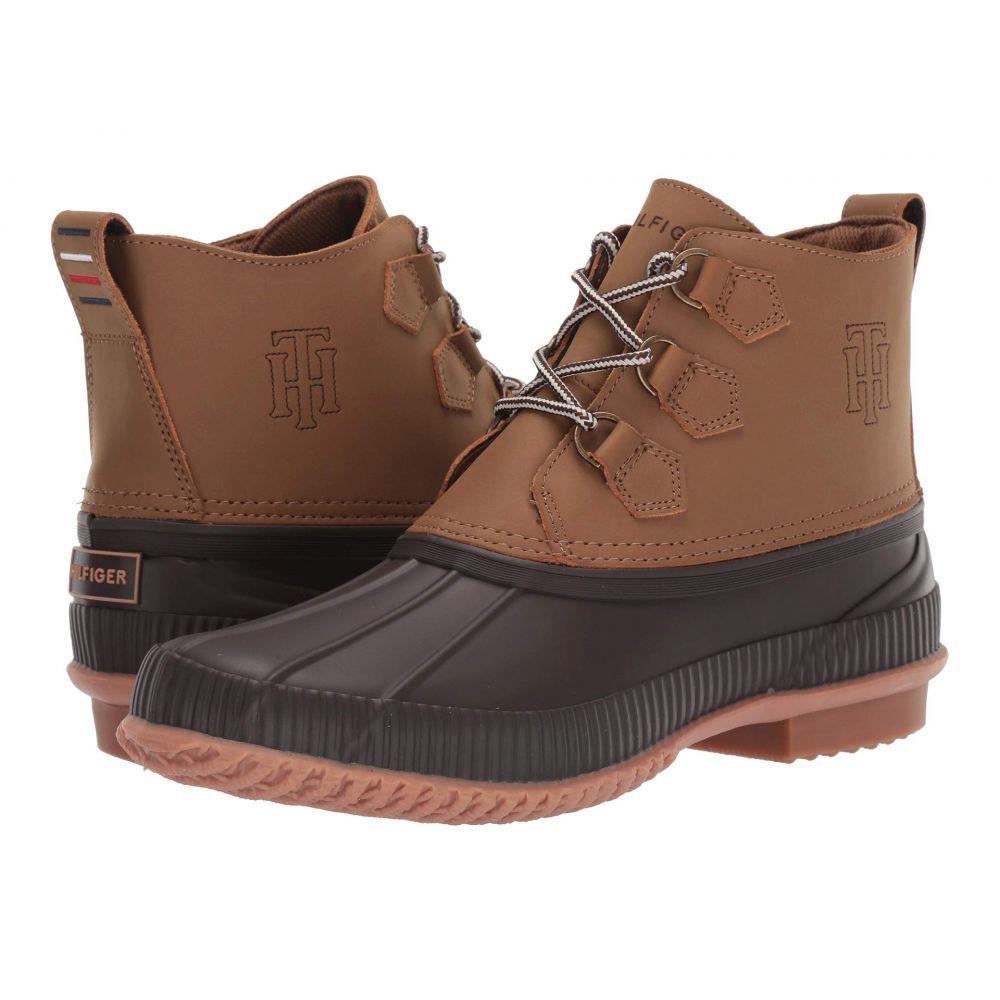 トミー ヒルフィガー Tommy Hilfiger メンズ レインシューズ・長靴 シューズ・靴【cabot】Brown