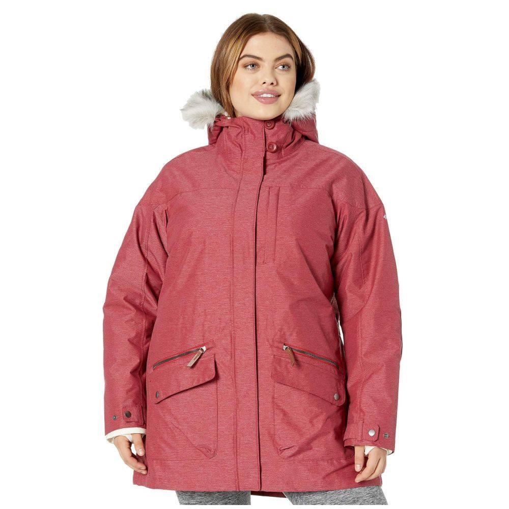 コロンビア Columbia レディース ダウン・中綿ジャケット 大きいサイズ アウター【plus size carson pass ic jacket】Beet
