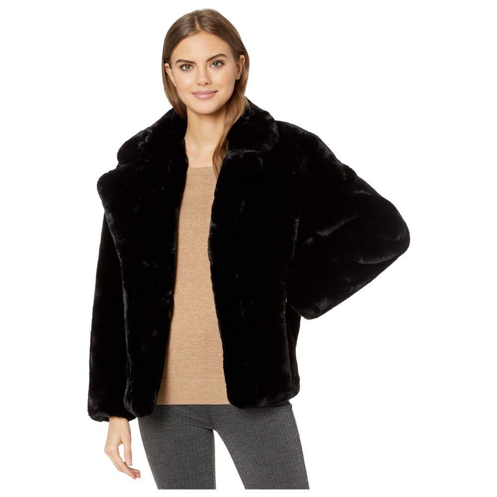 アパリス APPARIS レディース ダウン・中綿ジャケット ファーコート アウター【manon faux fur coat】Black