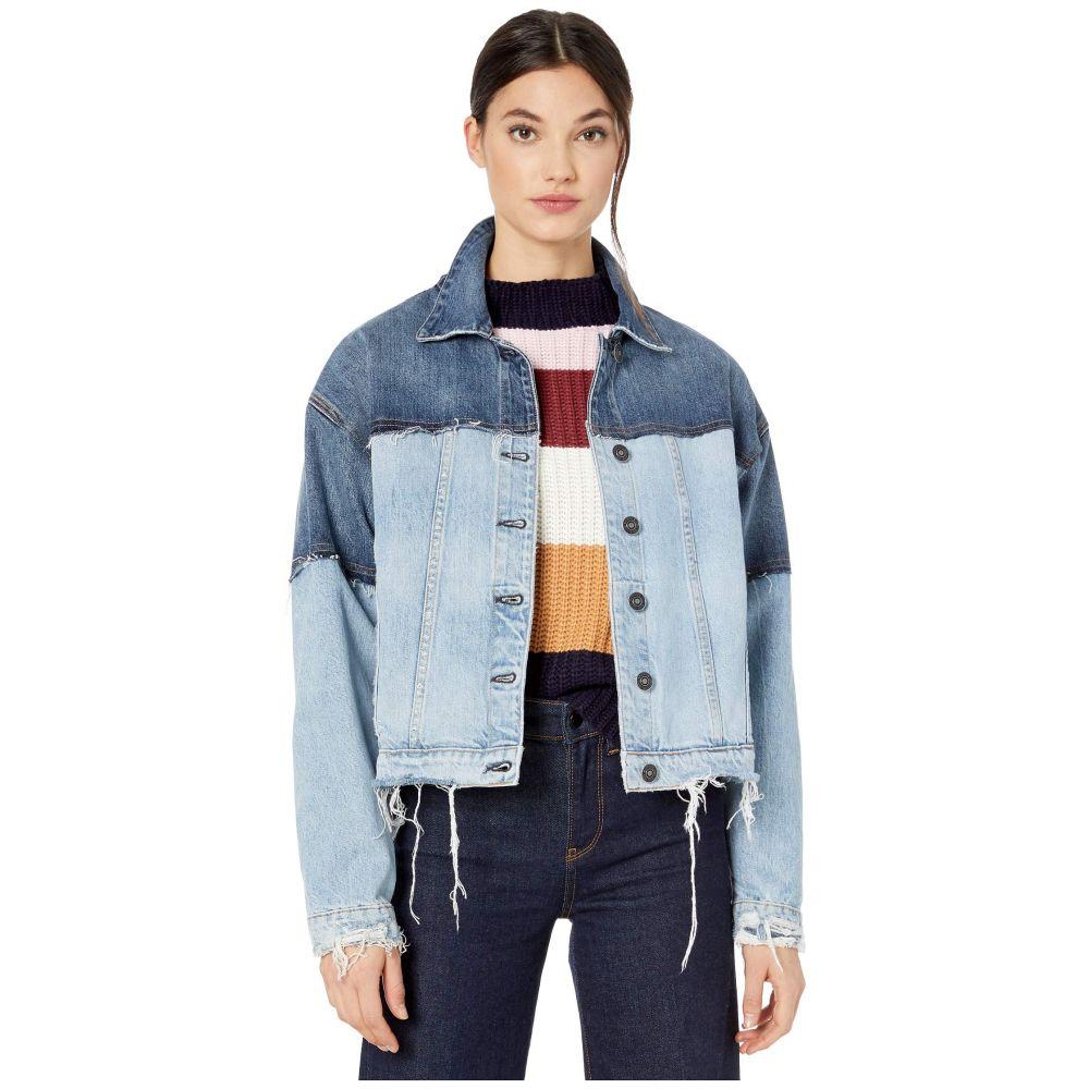 ハドソンジーンズ Hudson Jeans レディース ジャケット アウター【two-tone high-low jacket in naive】Naive