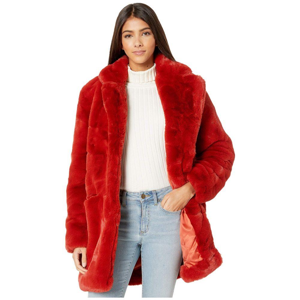 アパリス APPARIS レディース ダウン・中綿ジャケット ファーコート アウター【sophie 2 faux fur coat】Ginger