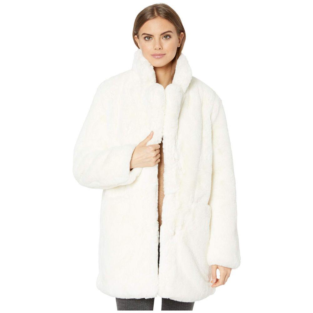 アパリス APPARIS レディース ダウン・中綿ジャケット ファーコート アウター【sophie 2 faux fur coat】Ivory