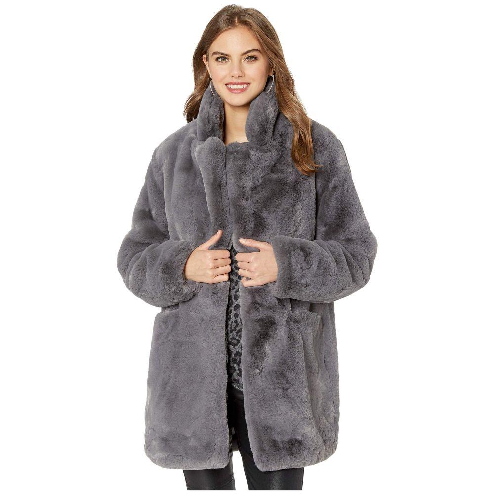 アパリス APPARIS レディース ダウン・中綿ジャケット ファーコート アウター【sophie 2 faux fur coat】Carbon