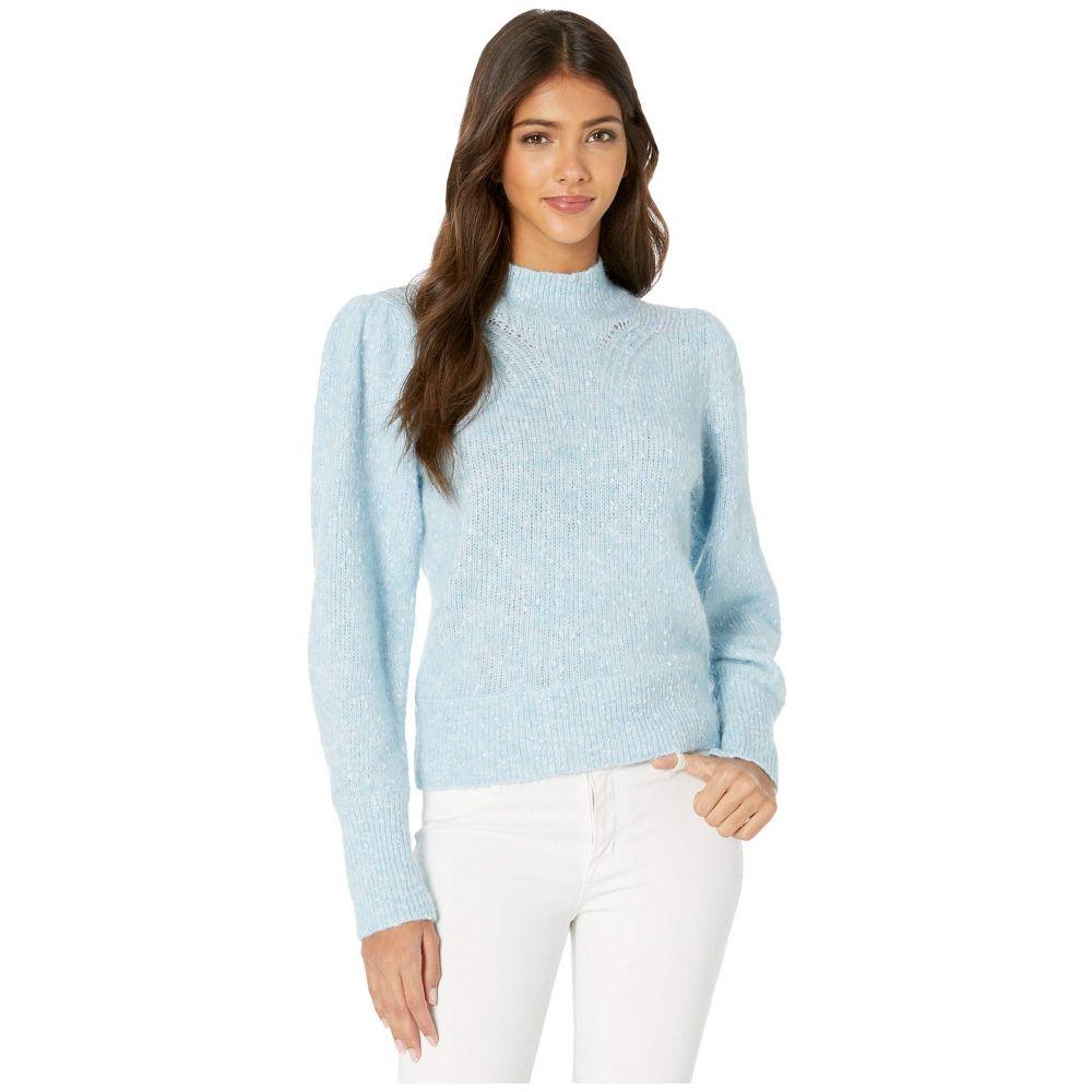 レベッカ テイラー Rebecca Taylor レディース ニット・セーター トップス【optic tweed pullover】Carolina Blue