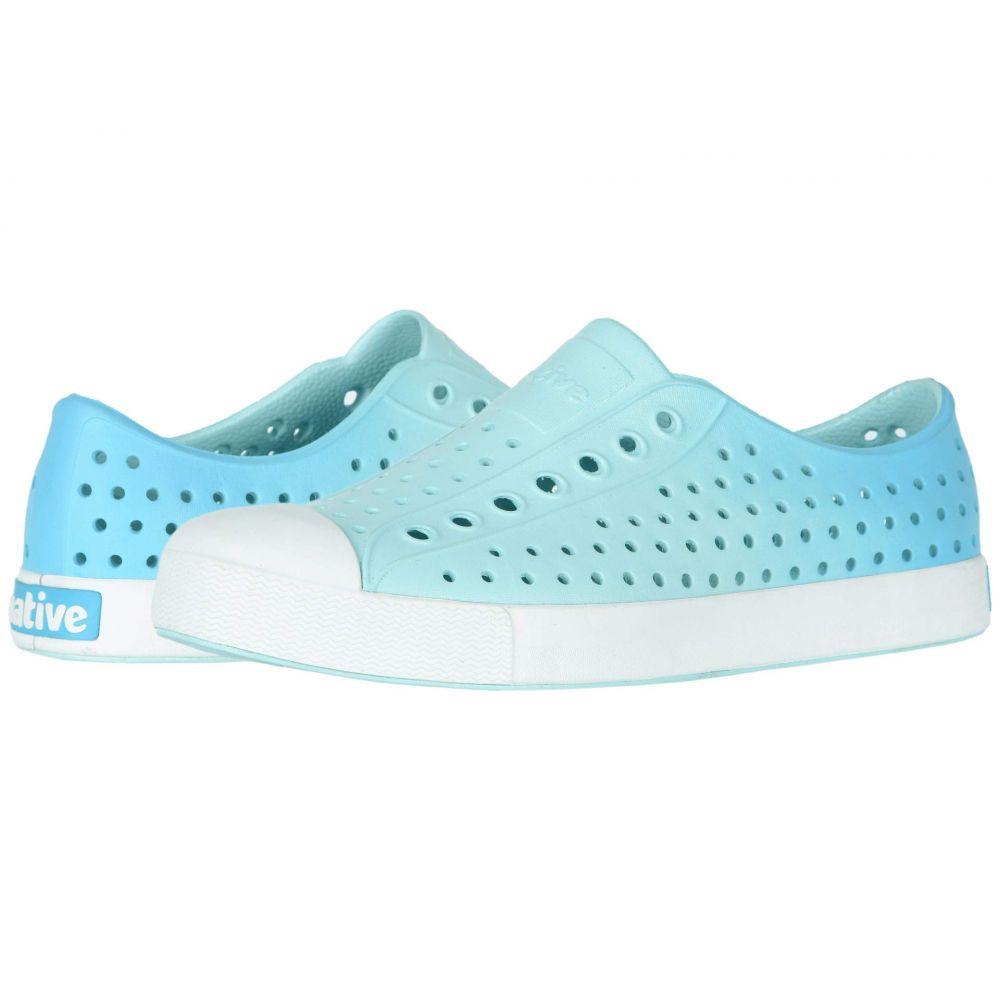 ネイティブ シューズ Native Shoes レディース スニーカー シューズ・靴【jefferson ombre】Piedmont Blue/Shell White/Hamachi Ombre