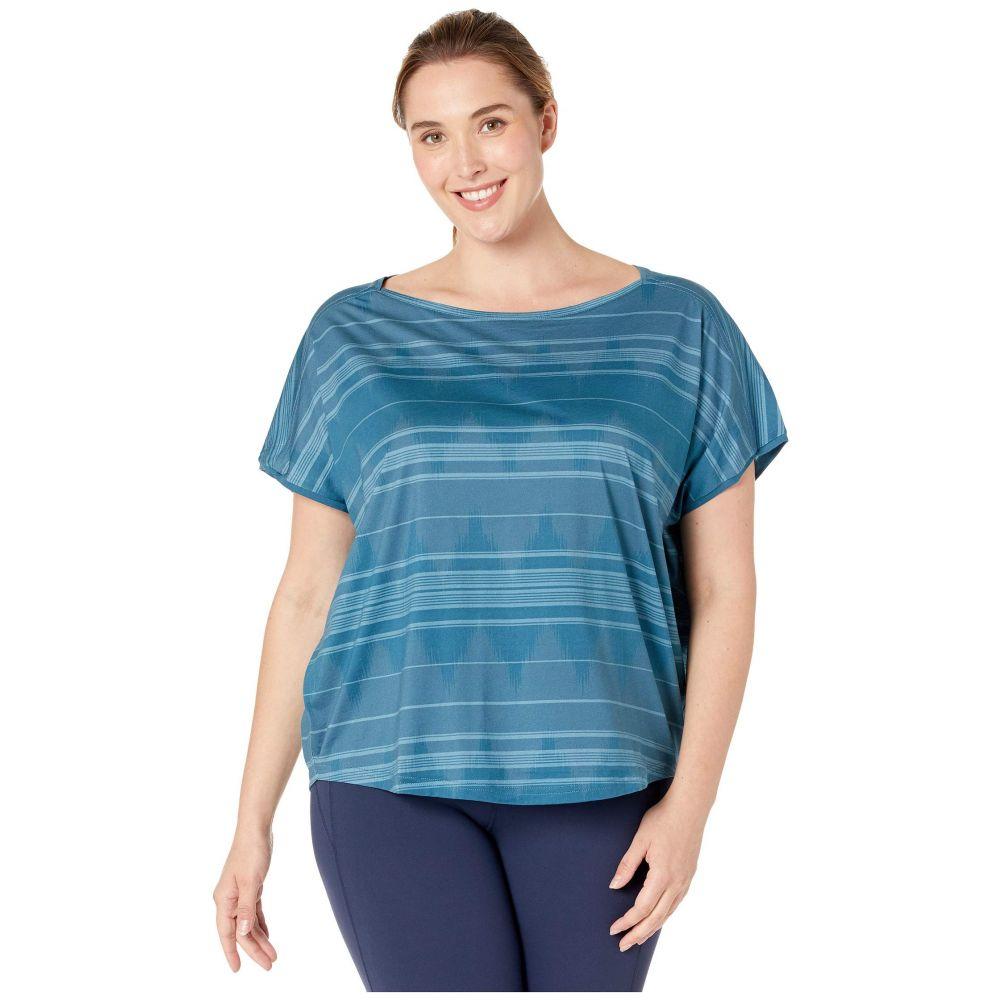 プラーナ Prana レディース Tシャツ 大きいサイズ トップス【plus size shenay top】Blue Note