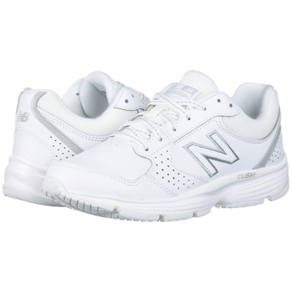 ニューバランス New Balance レディース スニーカー シューズ・靴【411】White/White
