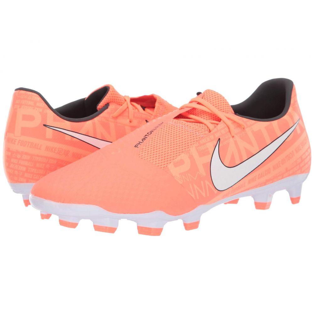 ナイキ レディース サッカー シューズ・靴 Bright Mango/White/Orange Pulse 【サイズ交換無料】 ナイキ Nike レディース サッカー シューズ・靴【phantom venom academy fg】Bright Mango/White/Orange Pulse