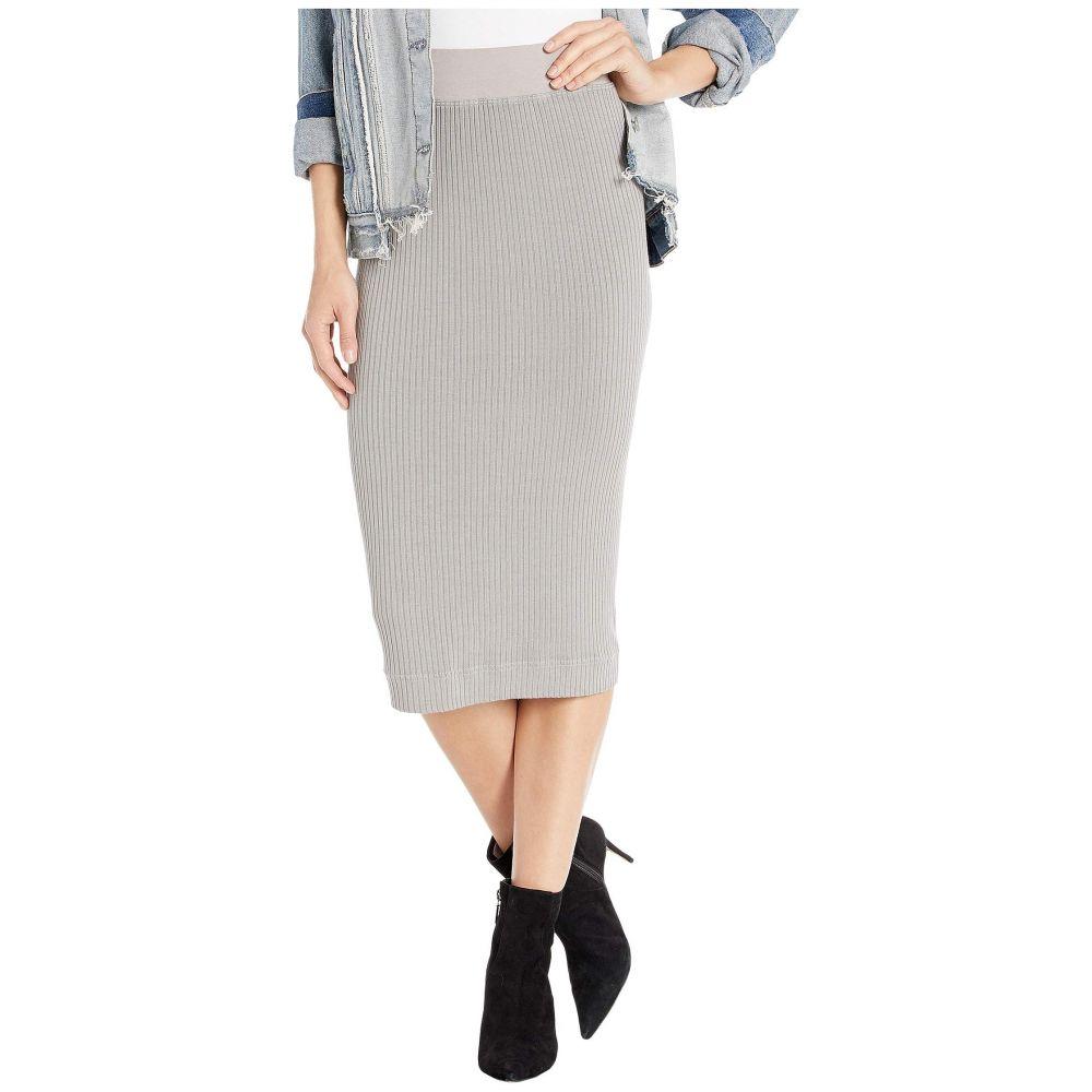 ハードテイル Hard Tail レディース ひざ丈スカート ペンシルスカート スカート【midi pencil skirt】Nickel