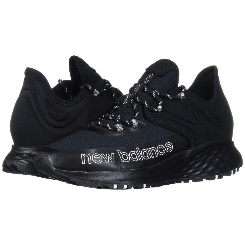 ニューバランス New Balance レディース スニーカー シューズ・靴【fresh foam roav trail】Black/White Textile