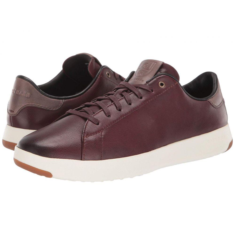 コールハーン Cole Haan メンズ スニーカー シューズ・靴【grandpro tennis sneaker】Burnished Wine Leather/Walnut