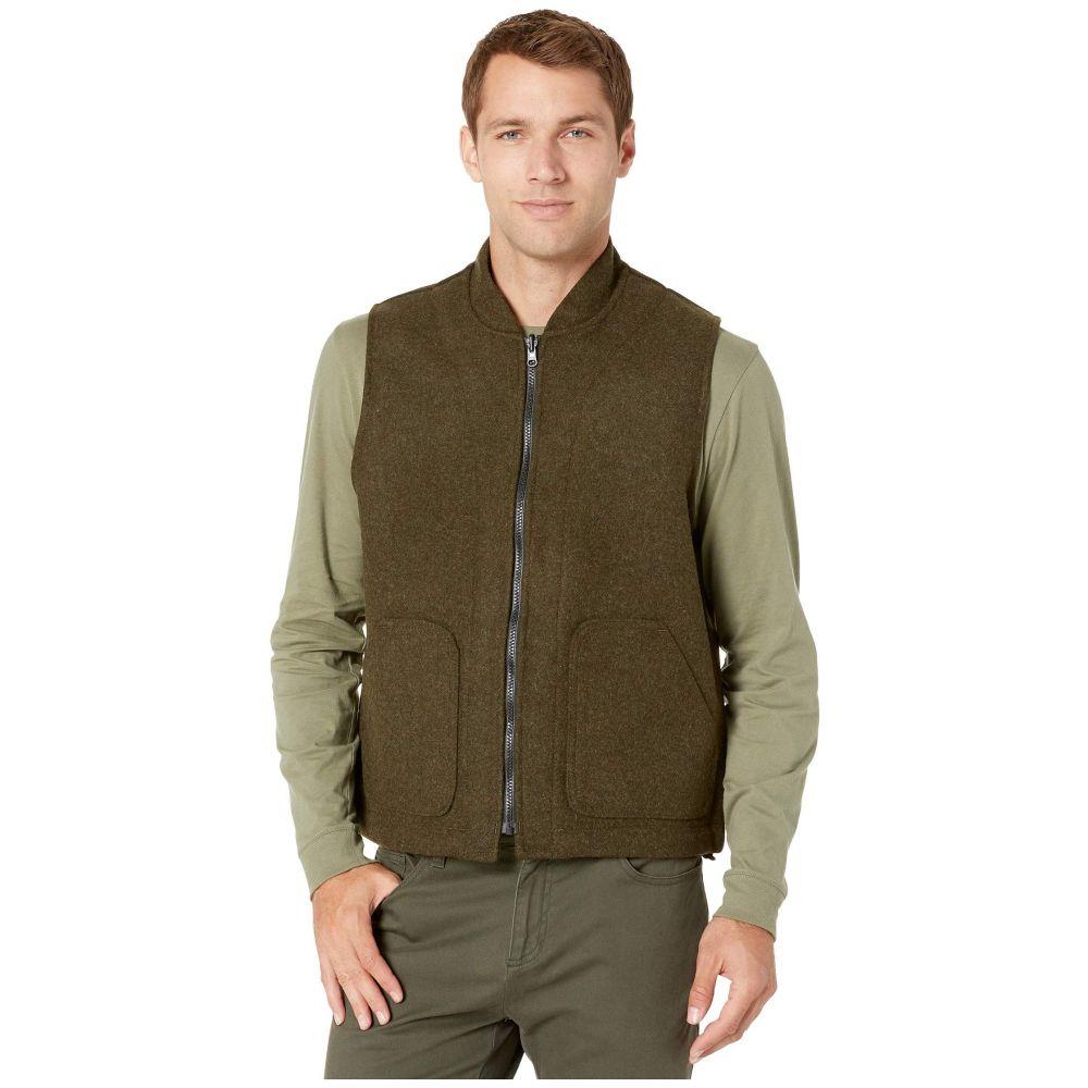 フィルソン Filson メンズ ベスト・ジレ トップス【wool vest liner】Forest Green