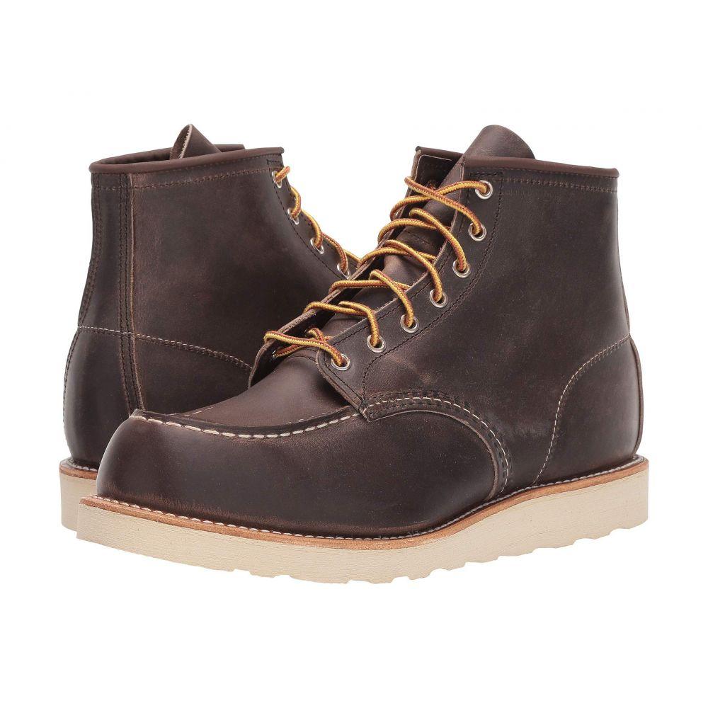 レッドウィング Red Wing Heritage メンズ ブーツ モックトゥ シューズ・靴【6' moc toe】Copper Rough/Tough