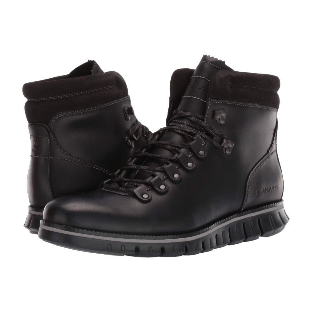 コールハーン メンズ ハイキング・登山 シューズ・靴 Waterproof Black Leather/Black 【サイズ交換無料】 コールハーン Cole Haan メンズ ハイキング・登山 シューズ・靴【zerogrand hiker wp】Waterproof Black Leather/Black