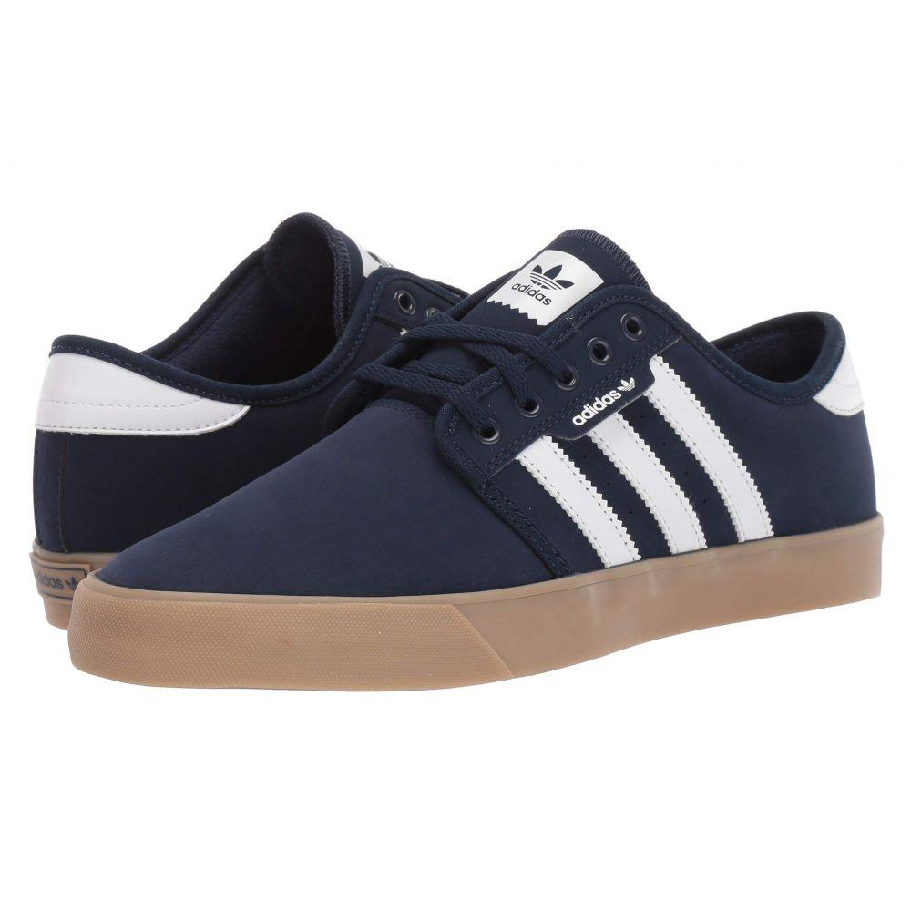 アディダス adidas Skateboarding メンズ スニーカー シューズ・靴【Seeley】Collegiate Navy/Footwear White/Gum