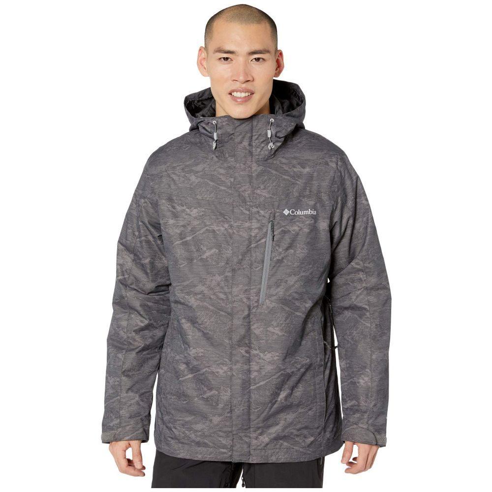 コロンビア Columbia メンズ ジャケット アウター【Whirlibird(TM) IV Interchange Jacket】City Grey Mountains Jacquard Print