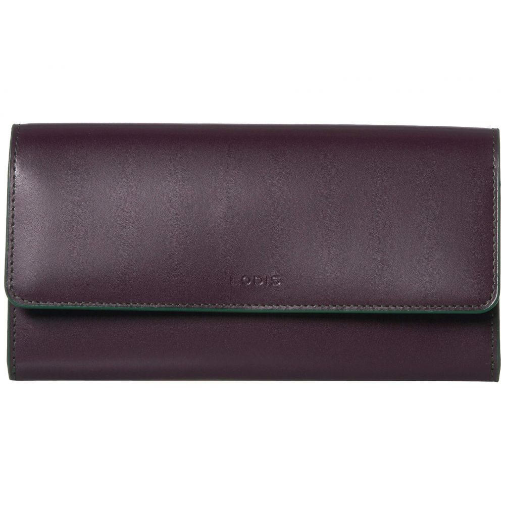 ロディス アクセサリー Lodis Accessories レディース クラッチバッグ バッグ【Audrey Under Lock & Key RFID Luna Clutch Wallet】Deep Plum/Ivy