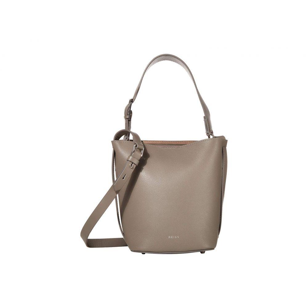 リース REISS レディース ショルダーバッグ バケットバッグ バッグ【Hudson Mini Bucket Bag】Elephant Grey