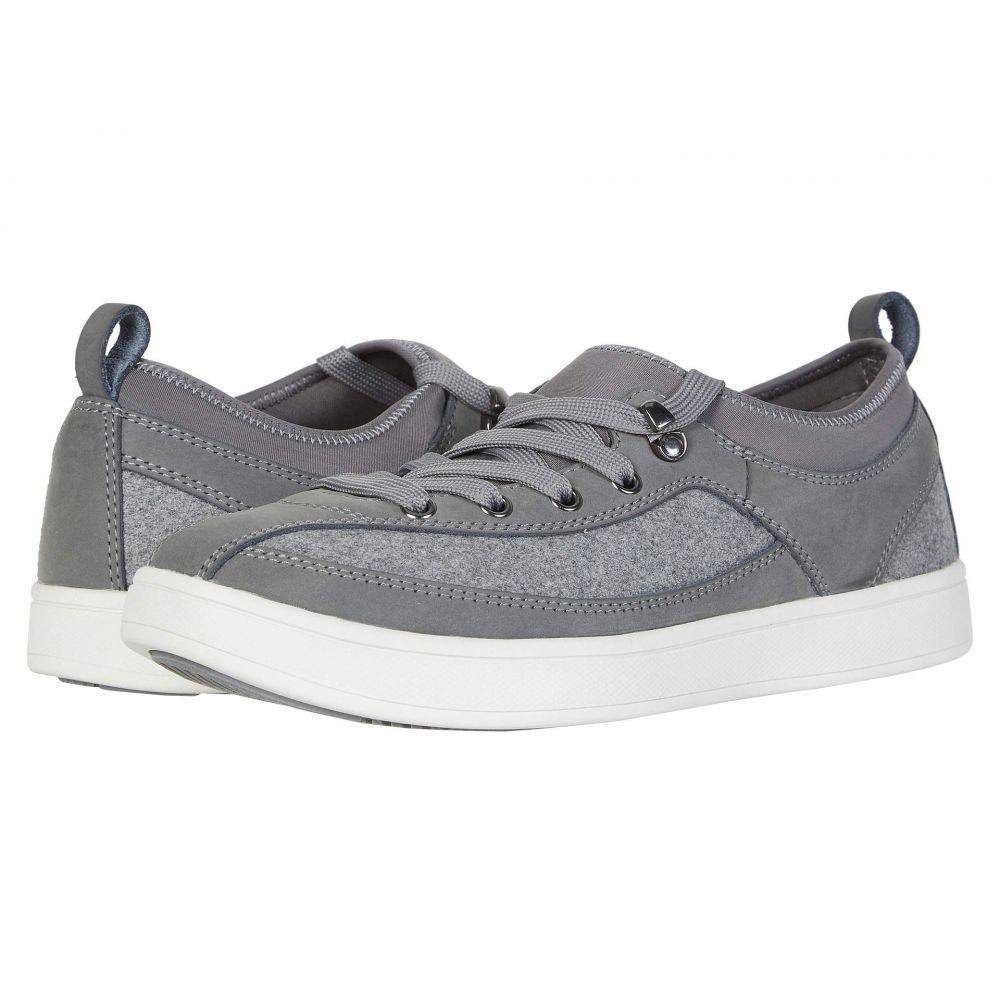 ドリュー Drew メンズ スニーカー シューズ・靴【Buzz】Grey Leather/Flannel