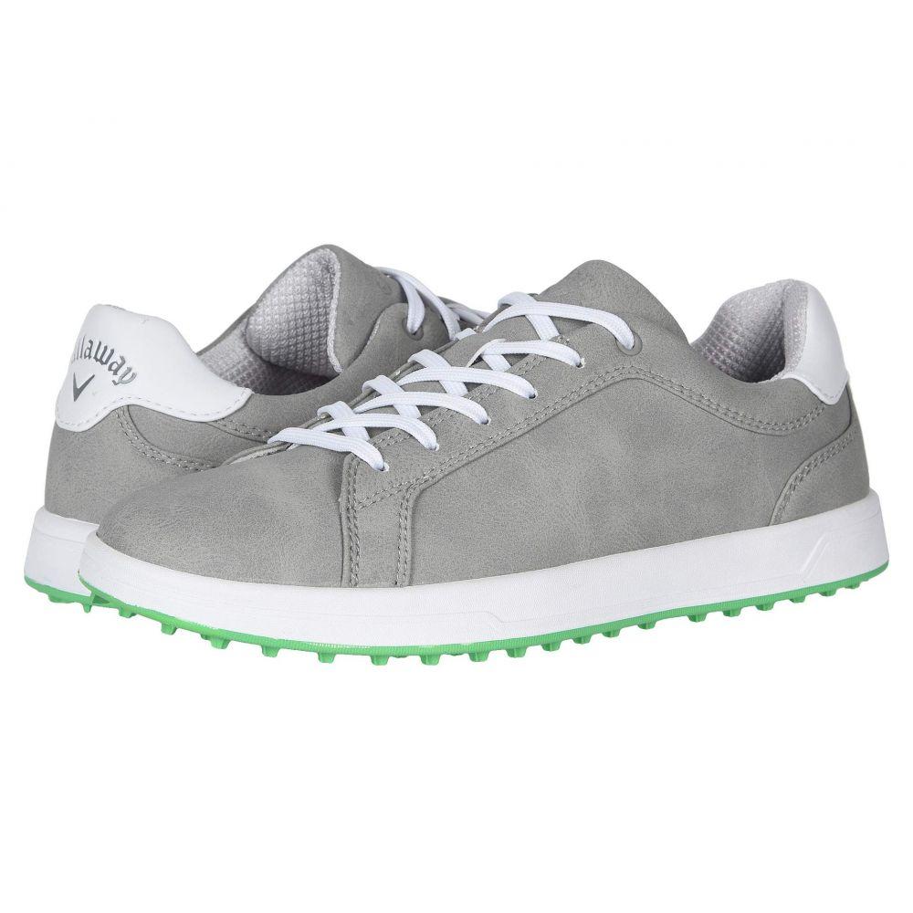キャロウェイ Callaway レディース ゴルフ シューズ・靴【Del Mar】Grey