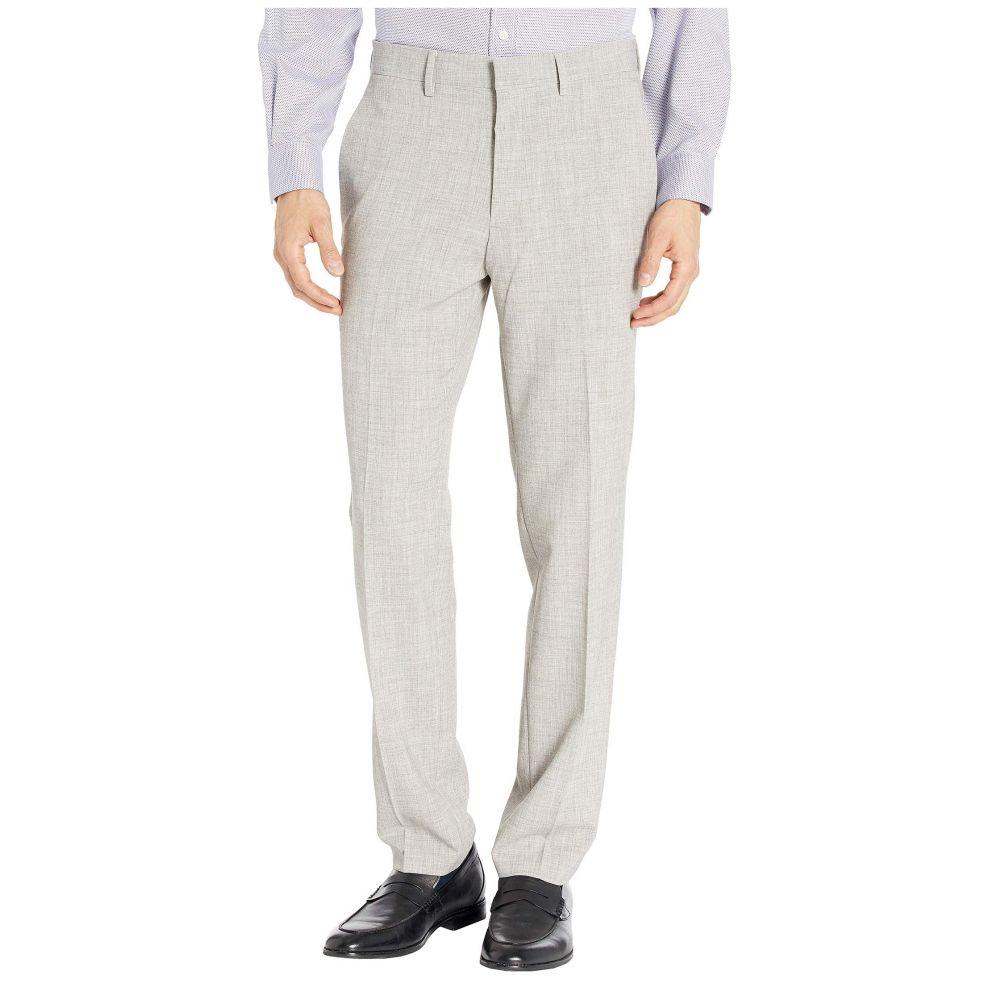 ケネス コール Kenneth Cole Reaction メンズ スキニー・スリム ボトムス・パンツ【Stretch Flannel Slim Fit Flat Front Dress Pants】Heather Grey