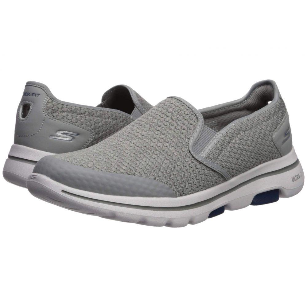 スケッチャーズ SKECHERS Performance メンズ スニーカー シューズ・靴【Go Walk 5 - Apprize】Light Gray/Blue