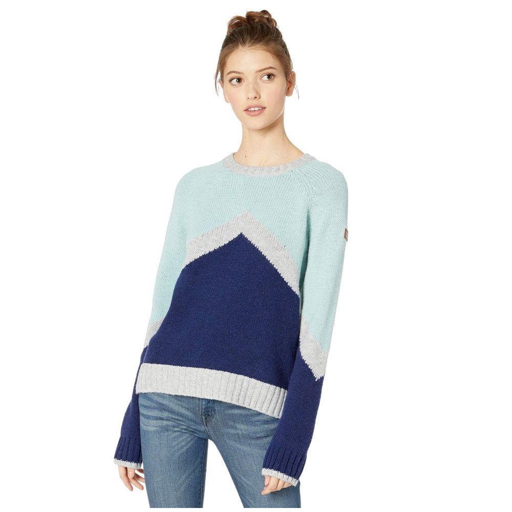 ロキシー レディース トップス ニット・セーター Medieval Blue 【サイズ交換無料】 ロキシー Roxy レディース ニット・セーター トップス【Cozy Sound Sweater】Medieval Blue