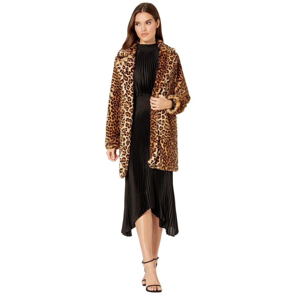 ブランクニューヨーク Blank NYC レディース コート アウター【Faux Fur Leopard Coat in Note To Self】Multicolor