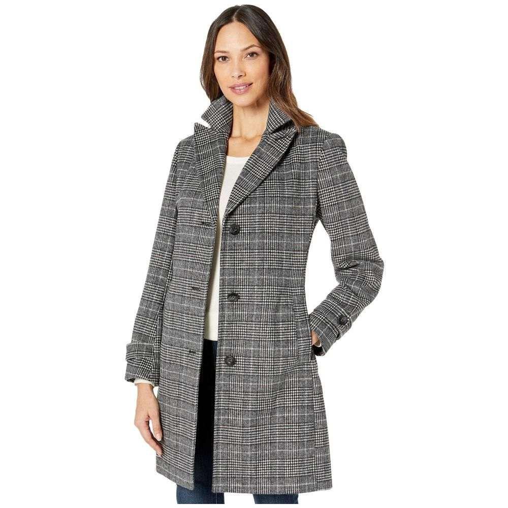 ヴィンス カムート Vince Camuto レディース コート アウター【Single Breasted Wool Coat V29723A】Multi Plaid