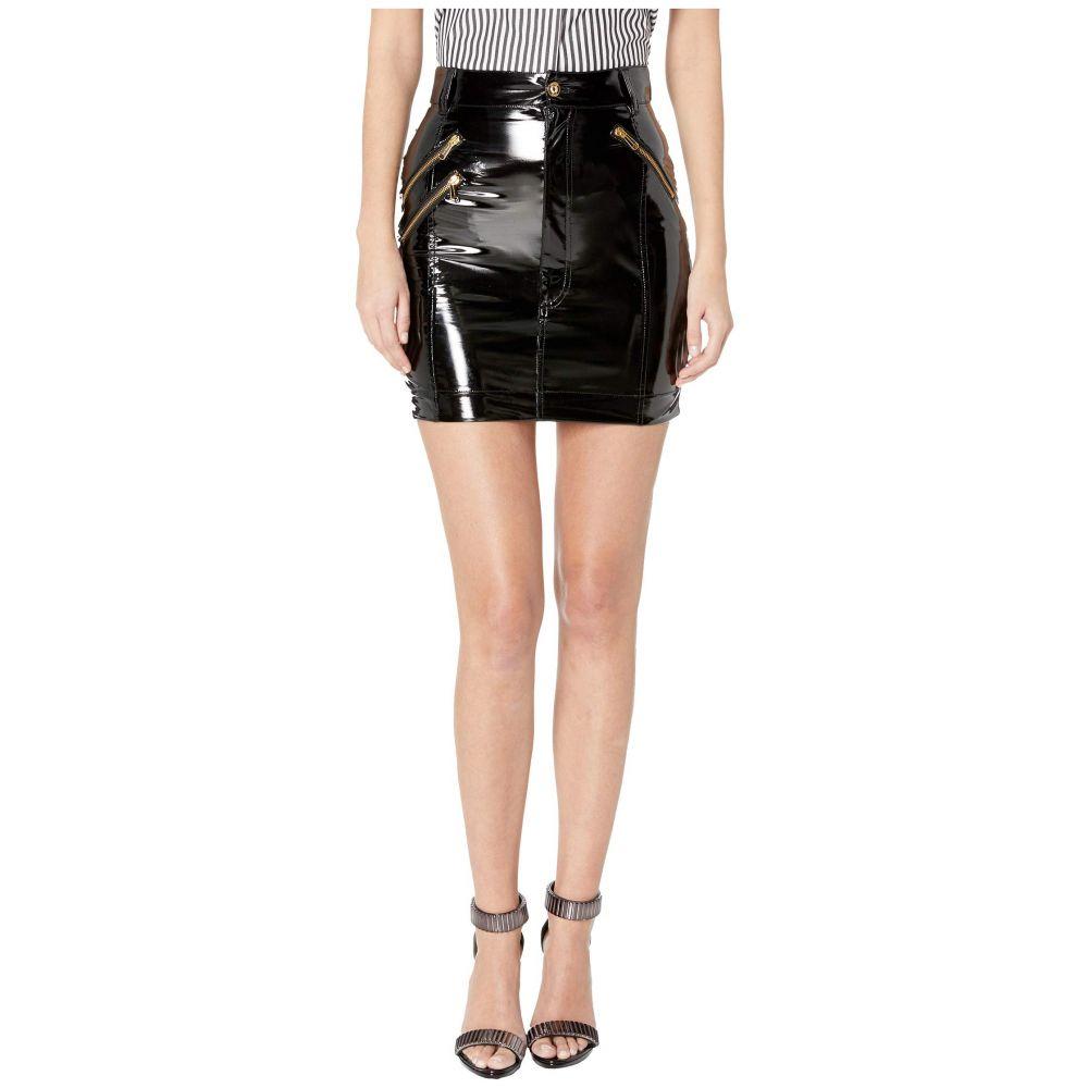 ヴェルサーチ Versace Jeans Couture レディース スカート 【Patent Skirt】Nero