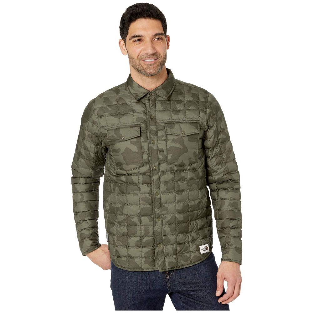 ザ ノースフェイス The North Face メンズ ダウン・中綿ジャケット アウター【Thermoball Eco Snap Jacket】New Taupe Green Oversized Camo Print