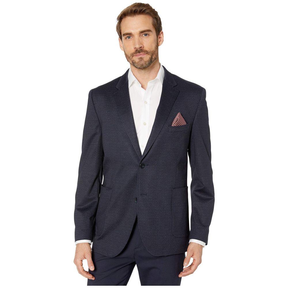 ジョンストン&マーフィー Johnston & Murphy メンズ スーツ・ジャケット アウター【XC4 Diamond Blazer】Navy